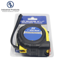 Flexible 25ft Double- Side Rubber Coated Measuring Tapes