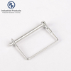 Zinc Plated Tube Locking Square Snapper Pins