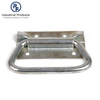 OEM Style Folding Pull Handle Zinc Plated Bolt on Hinge Chest Handles