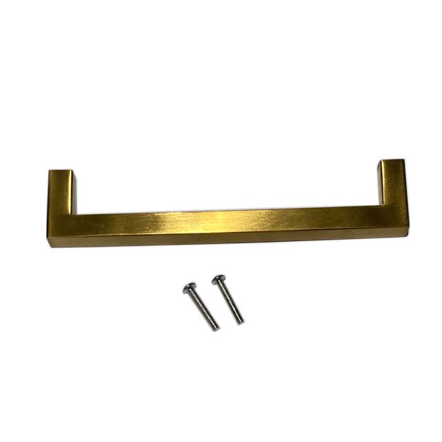 Wholesale Stainless Steel 201 Golden Coated Handle With M4 Screws